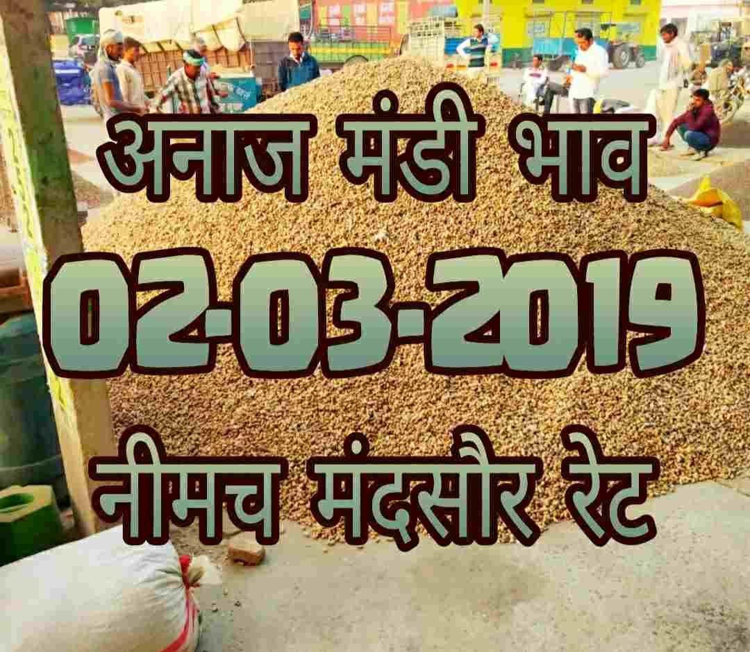 mandi-rates-02-03-2019 , mandi bhav 02-march-2019