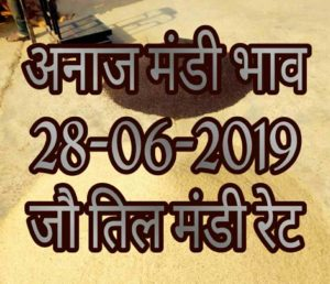 Mandi Bhav 28-06-2019 Mandi Rates Today