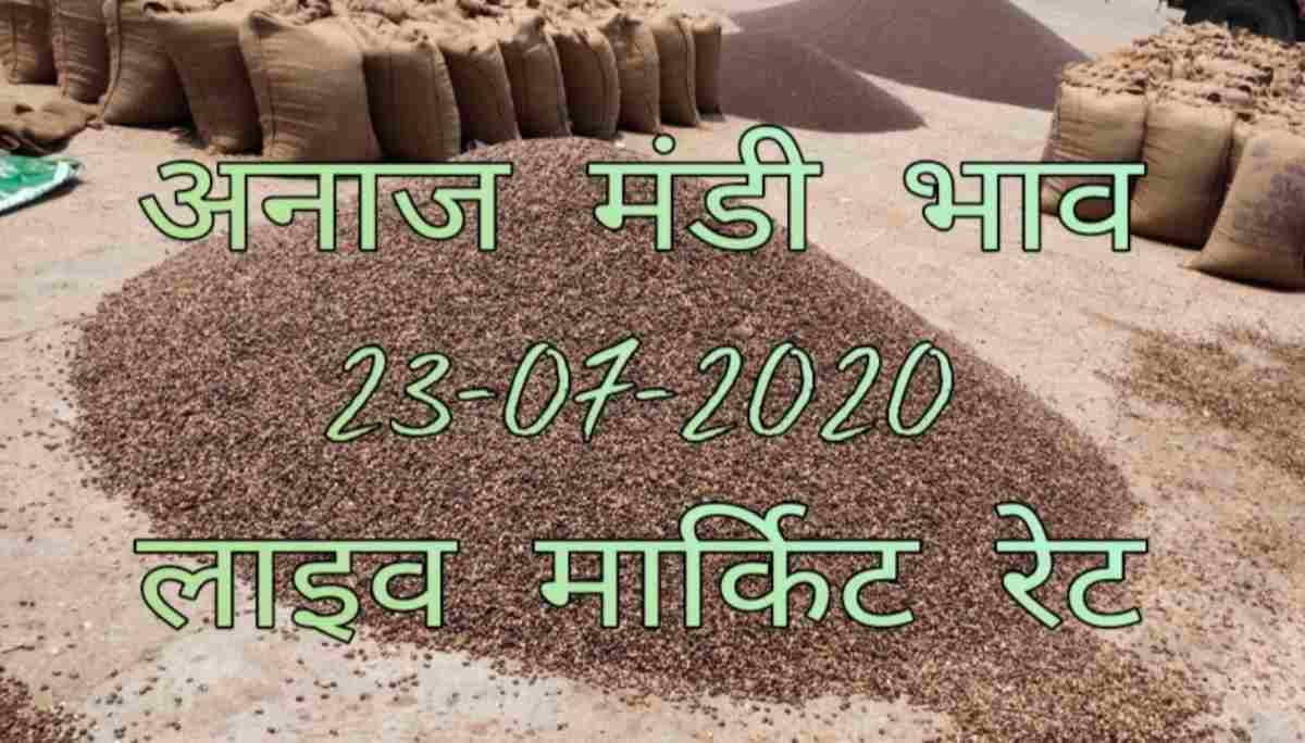 Mandi Bhav 23 July 2020 Sarso Chana Rates